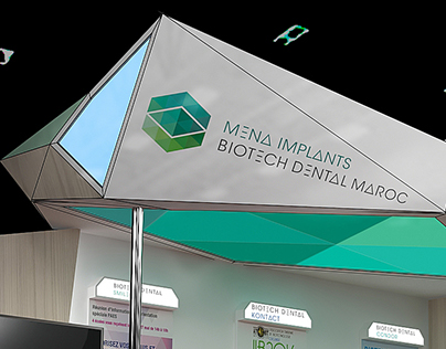Booth design medical company BIOTECH