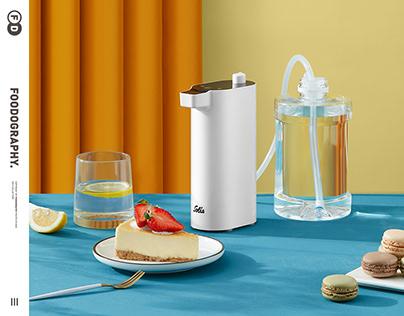 小家电摄影 | 索利斯即热式饮水机Water dispenser ✖ foodography