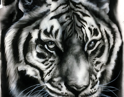 Tiger Airbrush Shirt