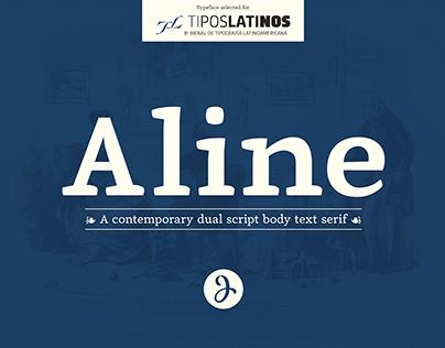 Aline Typeface | Font