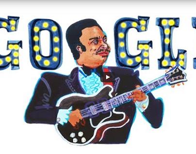 BB King Google Doodle