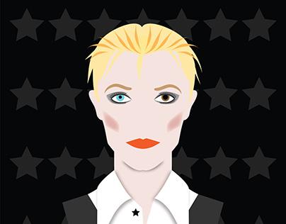 David Bowie - The White Duke
