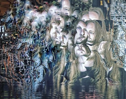 Venetian snares with his modular synth photo remix