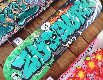 Deck Graffiti