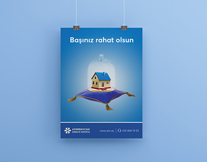 Poster for Industrial Bank of Azerbaijan