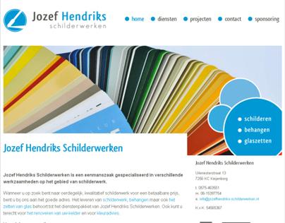 Website Jozef Hendriks Schilderwerken