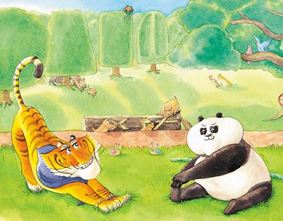 兒童玩讀繪本-《 幫幫忙聯盟 》|Children's picture book series