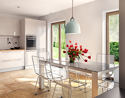 Interiors for residential project