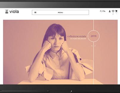 Viola redesign e-commerce
