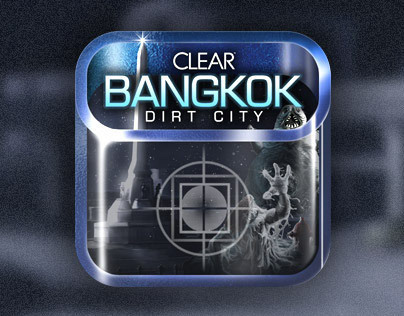 CLEAR BANGKOK DIRT CITY ICON