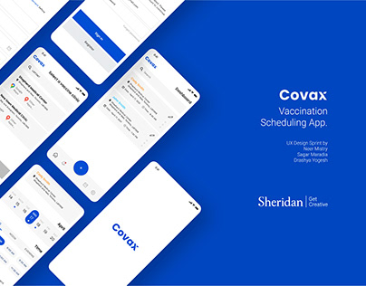 Covax - Covid-19 Vaccine scheduling app.