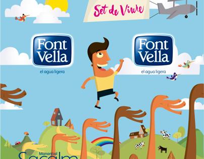 Ilustración para Font Vella