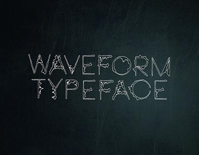 Neou Thin Waveform Typeface