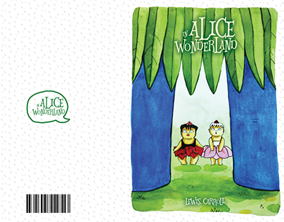 Personal Project - Alice In Wonderland book cover