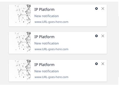 IP Platform Notification service