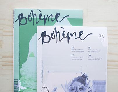 Boheme Magazine, 2017