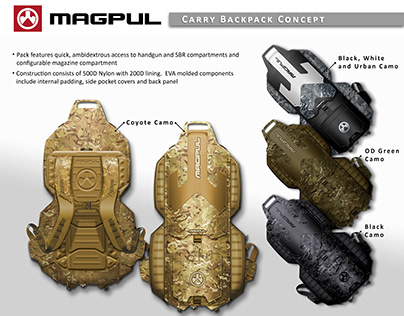 Magpul Carry Backpack Concept