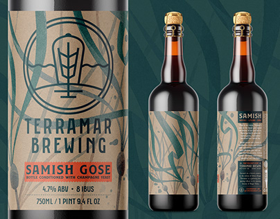 Terramar Samish Gose Packaging