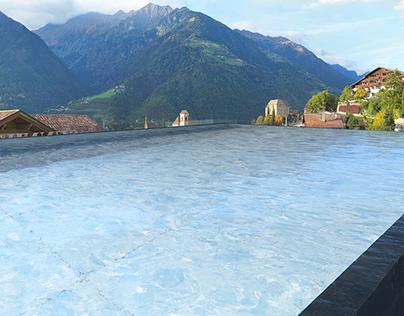 Rooftop Pool Schenna