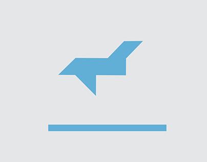 Решение навигации для аэропорта. Пиктограммы.