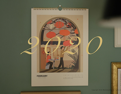 2020 calendar -Memories in the making