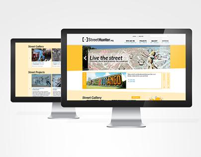 Streethunter - Website