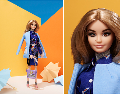 Vogue Italia - Designer Barbies - Global Beauty