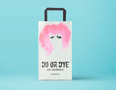 A Packaged Experience: DO OR DYE Hair Dye