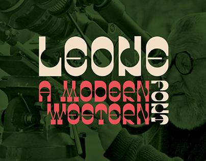 LEONE - FREE WESTERN FONT