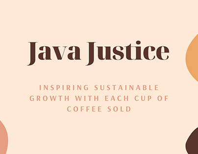 Java Justice - Case Study