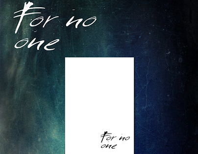 """For no one"" Magazine"