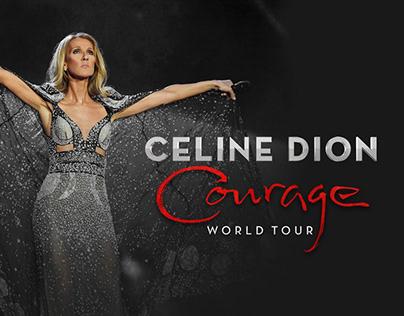 Celine Dion Courage World Tour , Tous les Blues