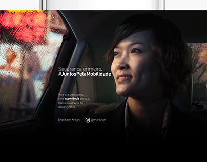 Uber - Juntos pela Mobilidade (Personal Project)
