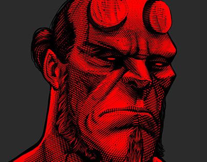 Hellboy Portrait