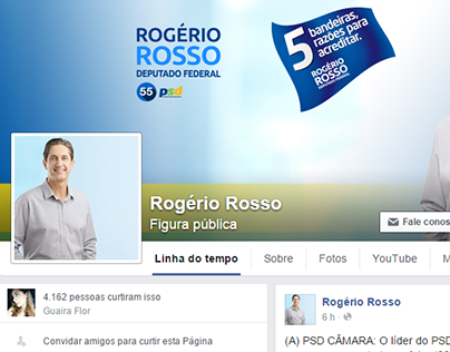 Oito Digital | Social Media: Rogério Rosso
