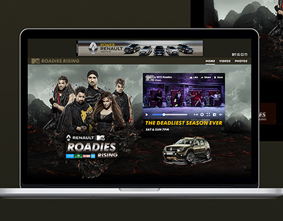 Renault MTV Roadies Rising - Web
