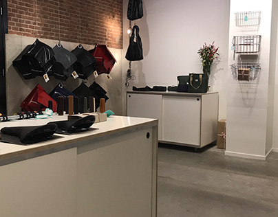 Interior design for RE_CYCLE Amsterdam