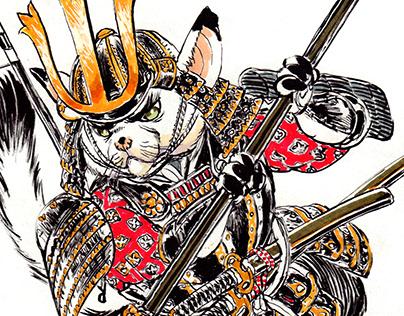 Samurai-Ninja Cats! Meow!