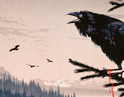 Alaskan Mistery Illustrations