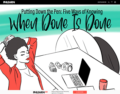 Illustrated Article - Putting Down The Pen: Five Way...