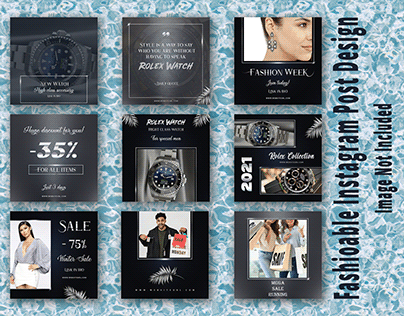 Fashionable Social Media Banner Templates
