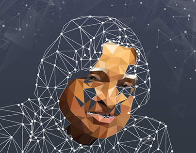 APJ - Low Poly Illustration