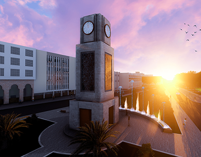 Urban Design Renovation: Zagazig University