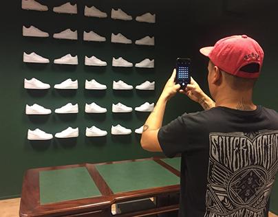 AF1 Sneaker Wall