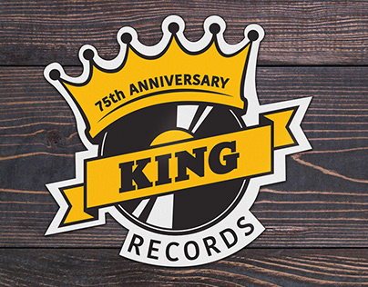 King Records Logo Design