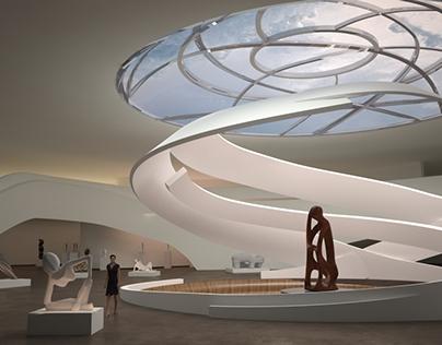 Museum Of Modern Art&Sculpture