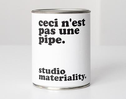 studio materiality