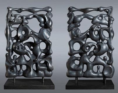 朱峰雕塑Zhu Feng sculpture 【生机系列-1】