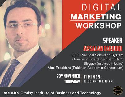 Speaker Social Poster