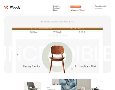 Woody - Furniture Store Design For WordPress Theme